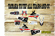 YAMAHA YZ YZF 85 125 250 450 FULL GRAPHICS KIT-MX -DECALS-STICKERS-BLOCK