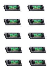 10 Ridgeback Magnetic Magnet Bubble Spirit Level 23mm Vial Ideal for TV Mounts