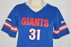 vintage 80s NEW YORK GIANTS #31 FRANKLIN FOOTBALL JERSEY KIDS YOUTH MEDIUM YM