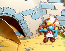 20147 Schtroumpfette cow girl Smurf puffi pitufo puffo schtroumpf 1982 germany