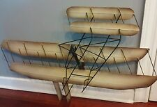 Curtis Jere signed sculpture Airplane aviation mid century modern wall decor