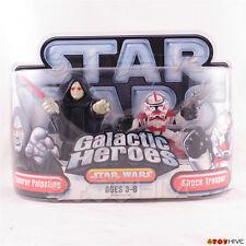 Star Wars Galactic Heroes - Emperor Palpatine and Shock Trooper 2-figure pack