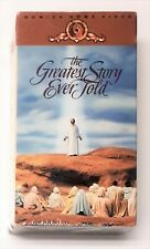 The Greatest Story Ever Told ~ VHS Video Movie ~ 2-Tape Set ~ Jesus Christ - New