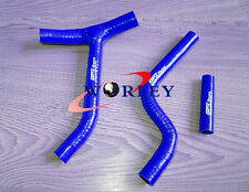 BLUE Silicone Radiator Hose for Yamaha YZ250F YZF250 2010 2011 2012 2013 10 11