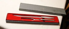 Vintage Gerber Legendary Blades Siegfried Carving Set Original Box