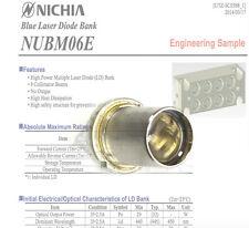 NICHIA NUBM06 440nm-450nm 4W High Power Multi-LD Bank Blue Laser Diode/ TIN-PIN