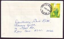 """NSW POSTMARK """"WHITE CLIFFS"""" ON COMMERCIAL COVER DATED 13/9/1984 (PS3968)"""
