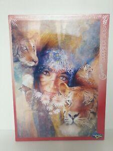 """NEW, SEALED Denton Lund 1000 piece Jigsaw """"Bengali Sunrise"""" Gift box"""