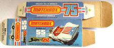 Matchbox Superfast MB Diecast Cars, Trucks & Vans