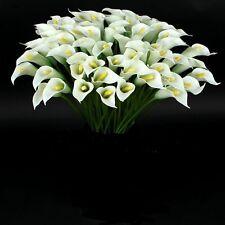 10 x Calla weiß   Seidenblumen -künstliche Blumen-Deko