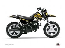 Kit Déco Moto Cross Replica Yamaha PW 50 Jaune kit deco pw 50