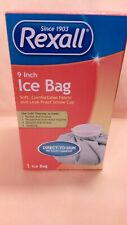 Rexall Reusable Ice Bag For Cold Therapy Pain Relief  Pack 9 Inch
