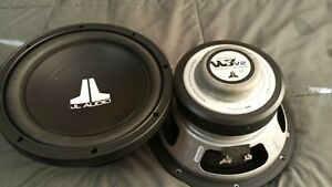 10w3v2-d4 Sub 20-year-old dual voice coil JL. Perfect condition.FREE SHIPPING!!