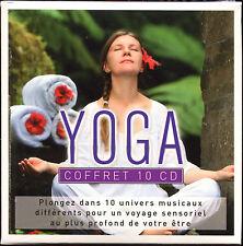 YOGA - COFFRETS ZEN MUSIQUES RELAXATION - 10 CD COMPILATION NEUF ET SOUS CELLO