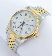 Rolex Datejust Herren Uhr Buckley Dial Stahl/Gold Ref.16013