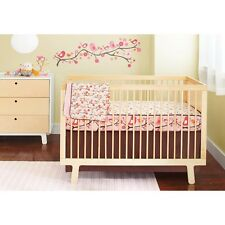 Skip Hop Springtime Birdie 4 pc Crib Bedding Set, Baby Girl, New
