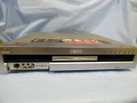 Vintage Sony RDR-GX3 DVD Recorder Dual RW Compatible DTS Video Plus DISC ERROR