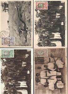 ETHIOPIA 15 CLASSIC MAXIMUM CARDS HUNTING   - 003