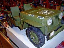 "original 1:6 GI Joe 12"" scale 5 star Jeep (loose) GI Joe (1960's) Hasbro"