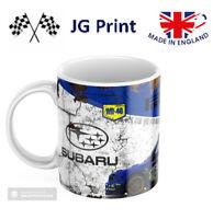 Subaru Impreza Rally Car Mug WRC 11oz ceramic