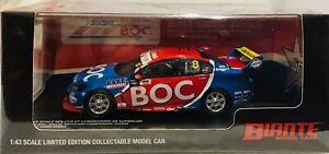 1:43 Biante VF Commodore 2015 Team BOC Jason Bright Championship Season BNIB COA