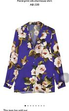 New Authentic Dolce Gabbana Floral Pyjama style Blouse Shirt Top