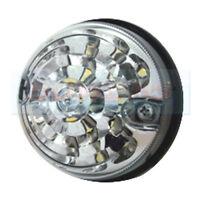 LAND ROVER DEFENDER RDX 73MM / 74MM WHITE LED FRONT CLEAR LENS SIDE LAMP LIGHT