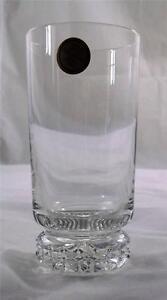 Villeroy & and Boch VINO long drink tumbler glass 24% lead crystal NEW handmade