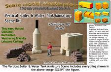 Scale Model Masterpieces Vertical Boiler & Water Tank Scene Kit N/1:160