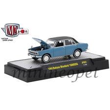 M2 MACHINES M2 32500 JPN01 AUTO JAPAN 1969 DATSUN BLUEBIRD 1600 SSS 1/64 BLUE