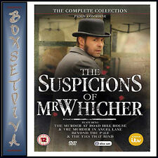 THE SUSPICIONS OF MR WHICHER - COMPLETE COLLECTION  **BRAND NEW DVD**
