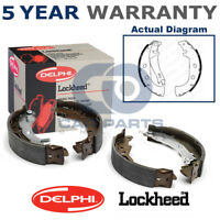 Set of Rear Delphi Lockheed Brake Shoes For Fiat Marea Multipla Palio 1.2 LS1847
