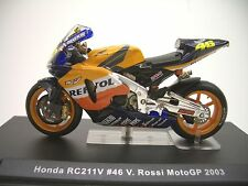 Honda RC211V #46  V. Rossi  MotoGP 2003  1:24  IXO   NEU & OVP