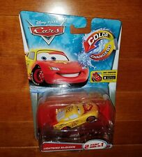 Disney Pixar Cars Color Changer Lightning McQueen Toy Vehicle New Free Shipping