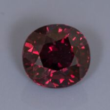 Deep Red Ruby, 2.28 carat, oval