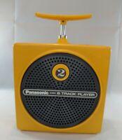 PANASONIC 8 Track Player Yellow RQ-830S 1970s Dynamite TNT Works Great