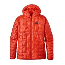Patagonia Micro Puff Hoody Insulated Jacket S Paintbrush Red