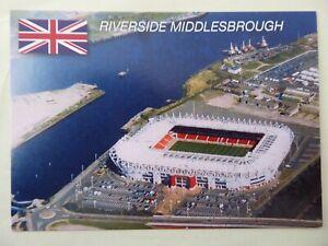 Stadionpostkarte, Riverside Stadium, Middlesbrough, FC Middlesbrough, Nr. GW 675