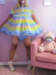 Sissy Baby Cotton   Dress set From Nanny Sue