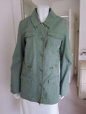 GUL Seaweed Peel Green Cotton Jacket / Coat Size 12  ' Gul ' Surfing rrp £65.99
