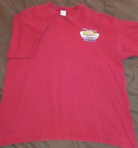 Erica Enders Autographed NHRA Arizona Nationals 2011 T Shirt 2XL Adult 2 Sided