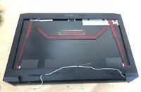 OEM CyberpowerPC Fangbook III HX6 Gaming Laptop LCD back bezel trim Cover hinges