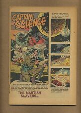 Captain Science #4 (COVERLESS) Youthful 1951 Golden Age Wally Wood (c#14581)