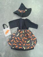 """Handmade Halloween Witch Outfit for 17 -18"""" Doll"""