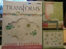 TransForms Rub-on For Rooms wall room decorations New Laxy Daisies Art