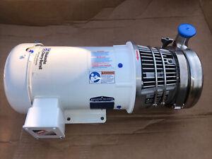 Waukesha Cherry-Burrell C-216 S/S Pump w/Baldor 5hp Motor