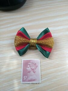 NEW CHRISTMAS DOG HAIR BOW, IN 3  COLOURS.