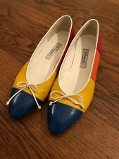 Rangoni of Florence Women's Flats Size 8 1/2 B -Beautiful, Unique and Colorful!