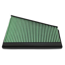 Fit 06-15 Ford Galaxy II/Volvo V70 III Green Washable High Flow Air Filter Panel