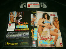 VHS *NAUGHTY NEIGHBORS* 1980's Harmony Entertainment Iss. Classic Romantic Drama